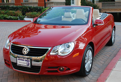 My newest car: a 2008 VW Eos